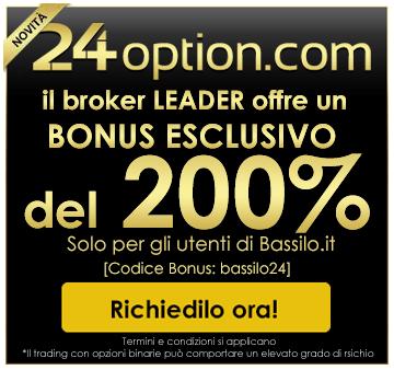 BONUS ESCLUSIVO DEL 200%