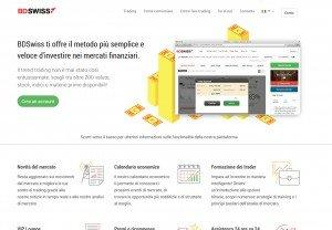 BDSwiss Sito Web