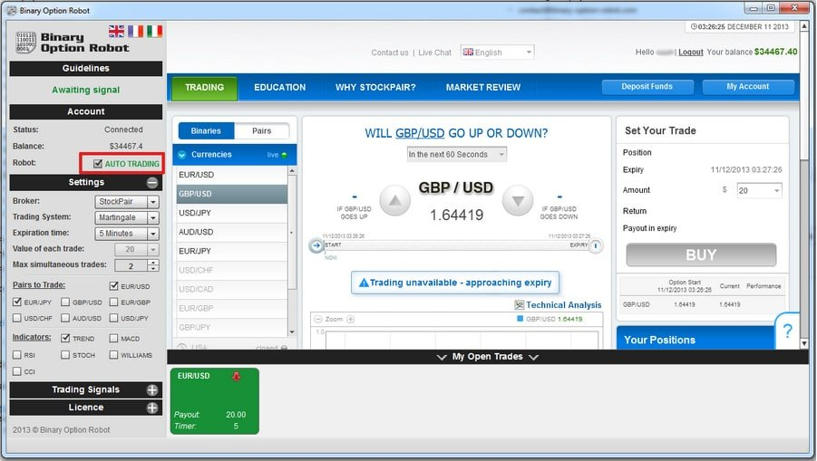 Binary option robot free download