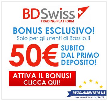Bonus BDSWISS