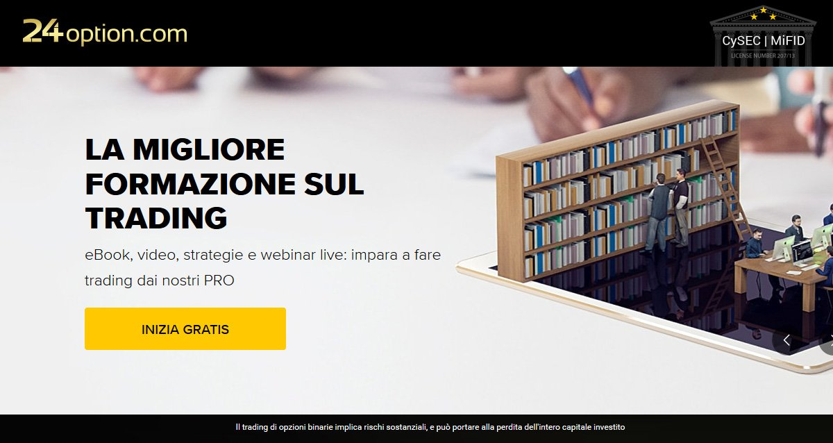 eBook opzioni binarie 24option