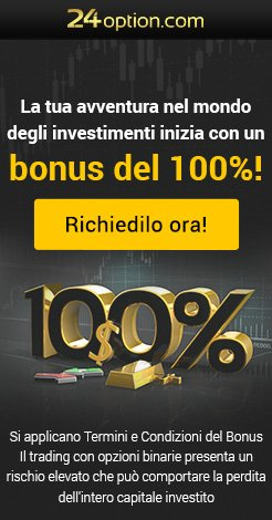 Bonus del 100% 24option