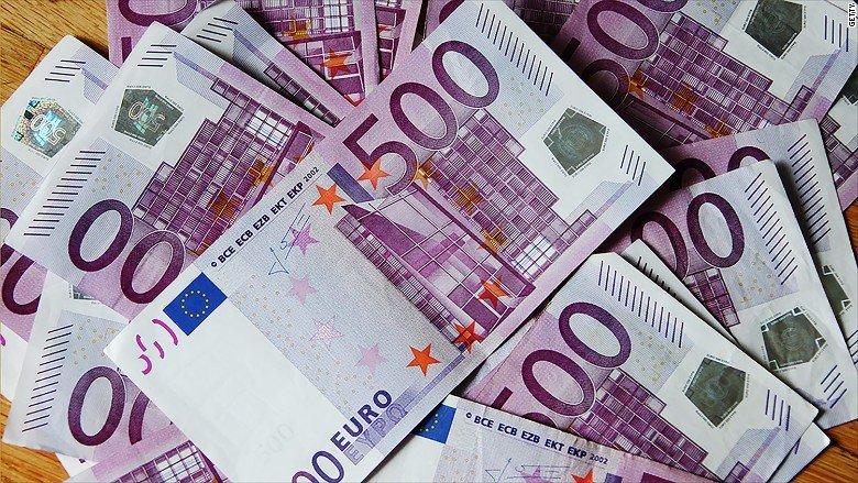 sale l'euro