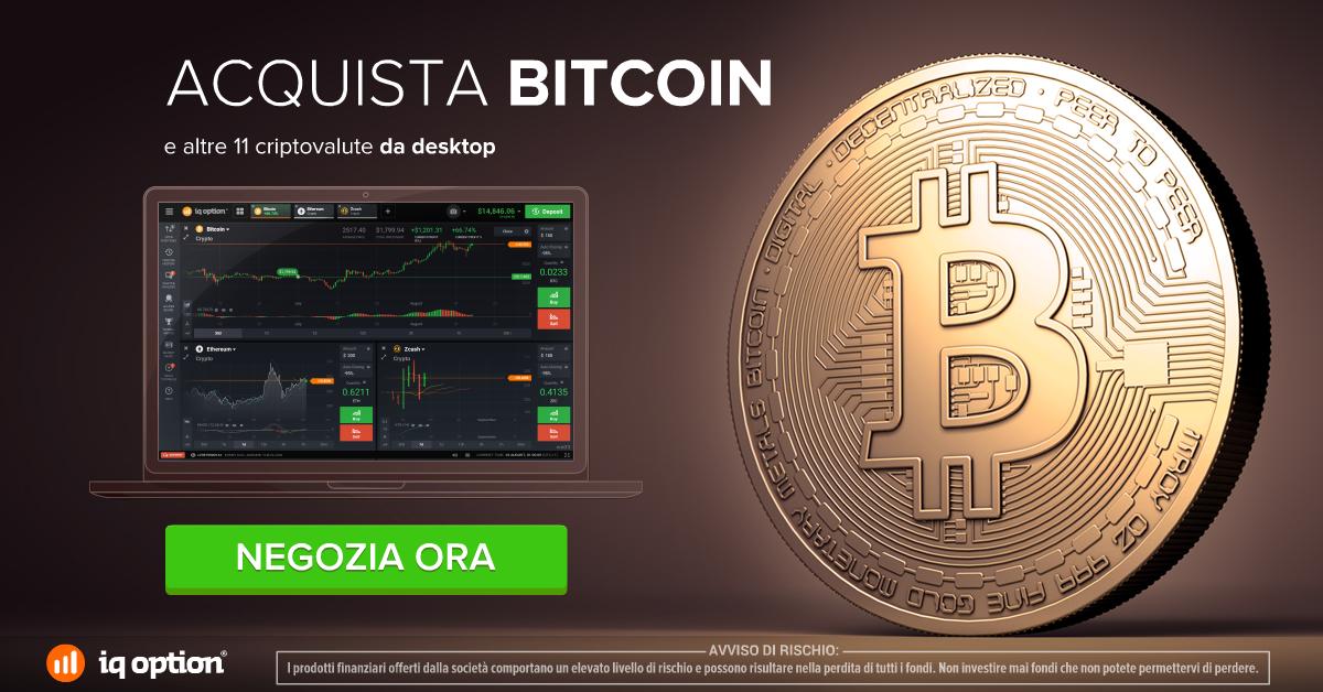 Fai trading con i BitCoin