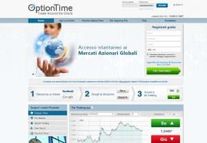OptionTime Sito Web