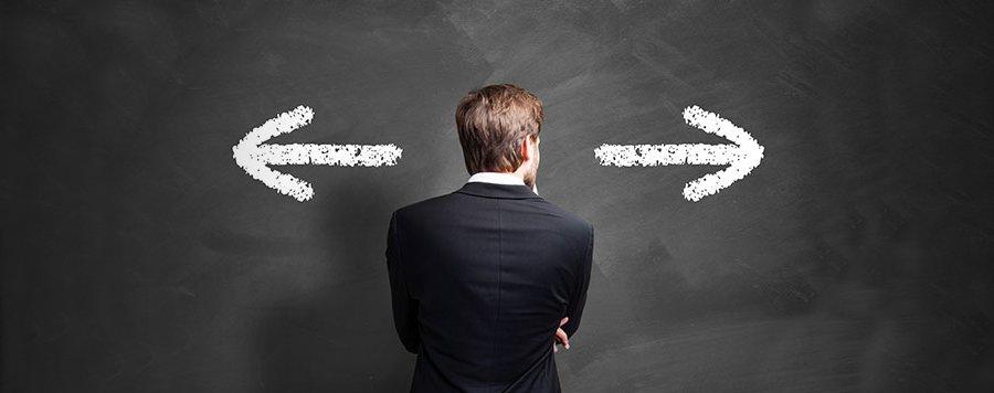 Opzioni binarie: trader di fronte una scelta