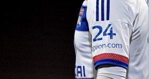 24option sponsor ufficiale dell'Olympique Lyonnais