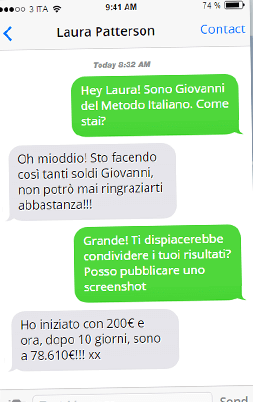Il metodo italiano whatsapp