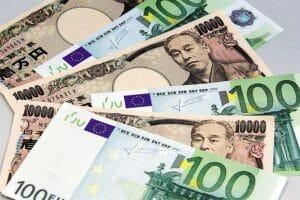 Sale la coppia forex EUR/JPY