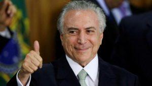 Presidente brasiliano Temer