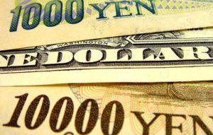 Sale la coppia forex USD/JPY