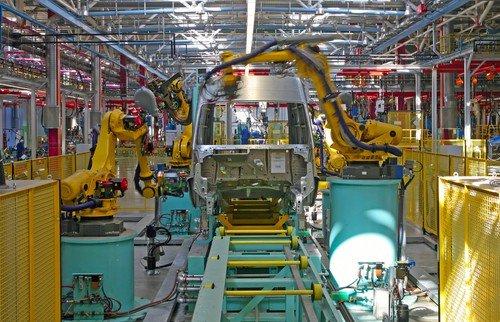 produzione industriale statunitense