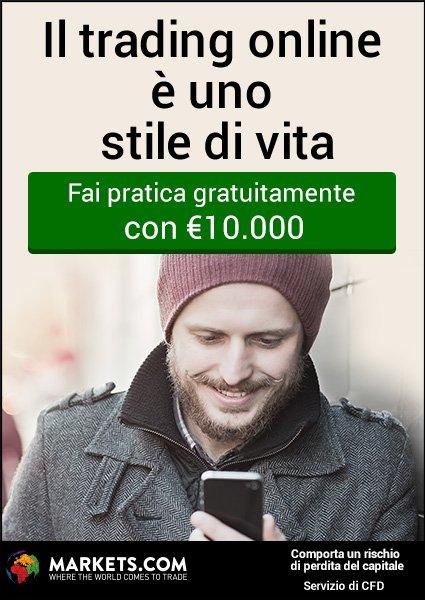 Fai pratica con 10.000€ Gratis!