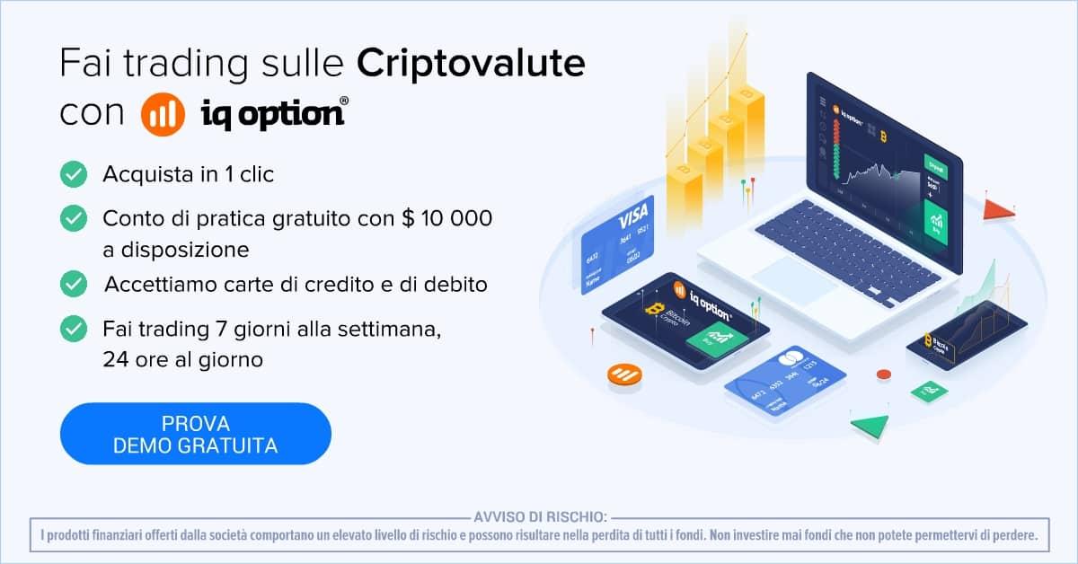 Investire criptovalute iqoption