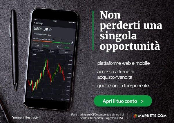 apri il tuo conto markets