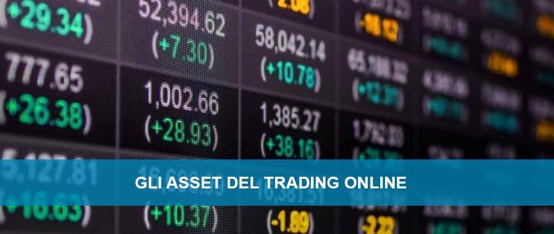 Gli Asset nel trading online