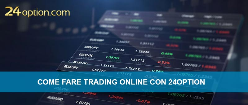 Come fare trading online con il broker 24option
