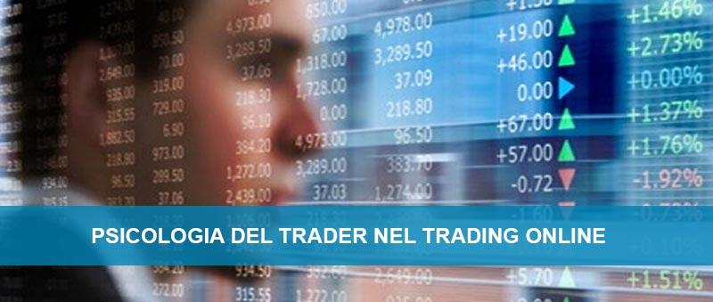 La psicologia nel trading online