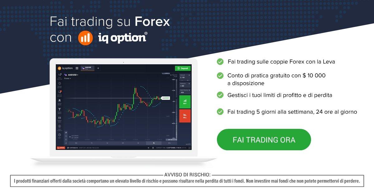 Come registrarsi e fare trading con iqoption