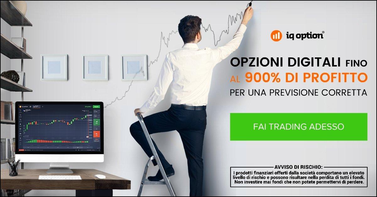 Opzioni digitali CFD IQ Option