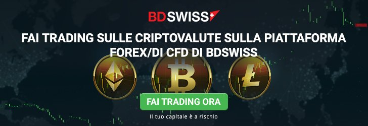 Trading Bitcoin con BDSWISS