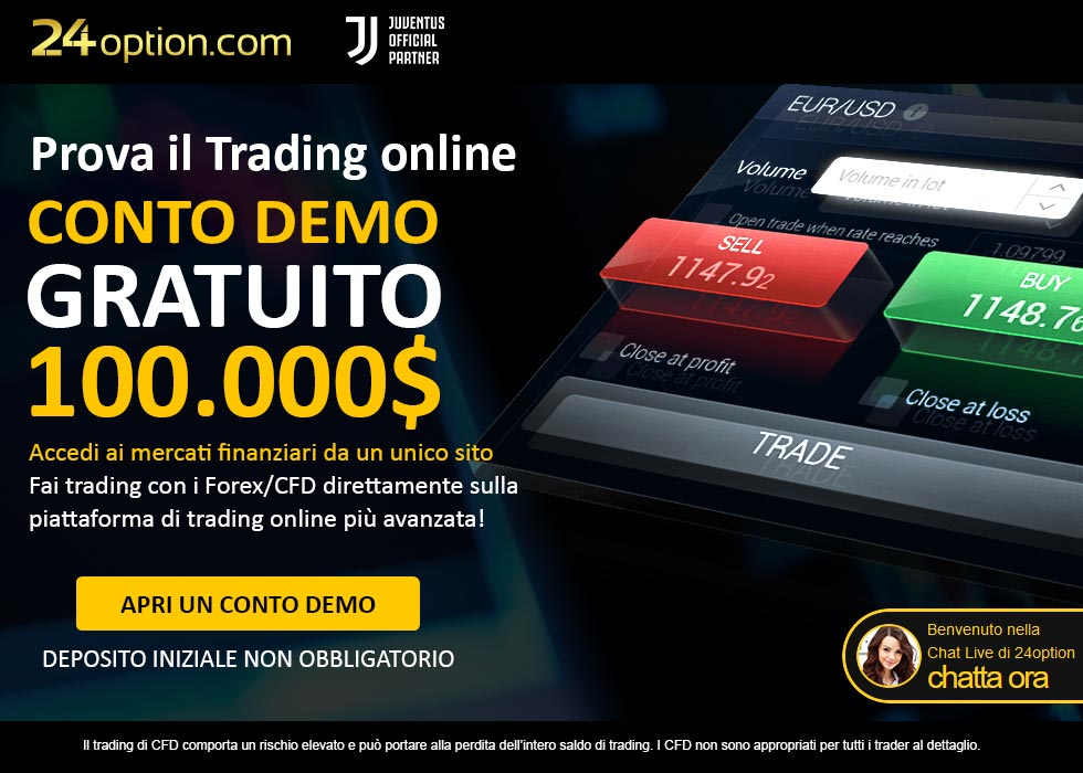 Fai trading con 24option!