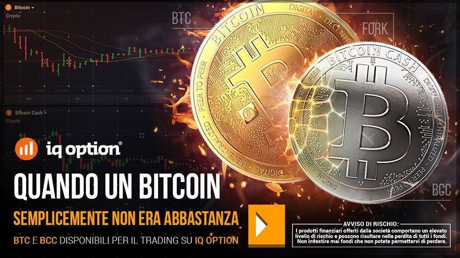 Compra Bitcoin cash su iqoption