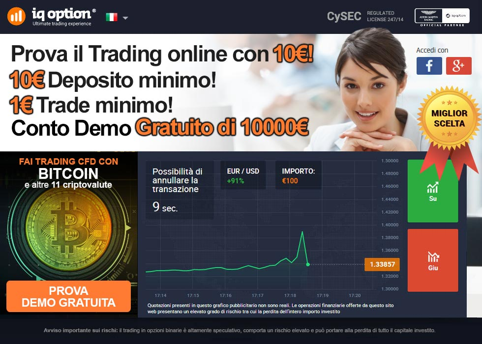 Prova il Trading con 10€!