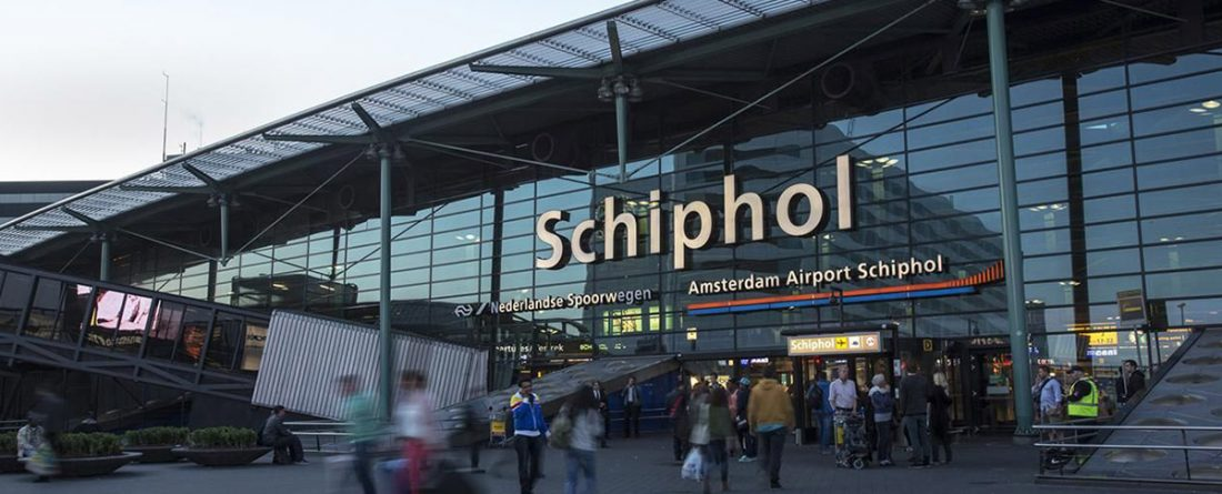 Aeroporto di Amsterdam istalla ATM in Crypto