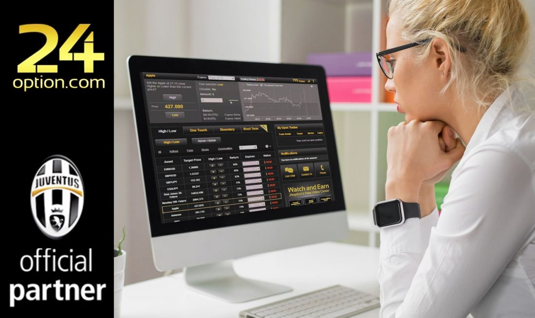 come fare trading online con 24 option