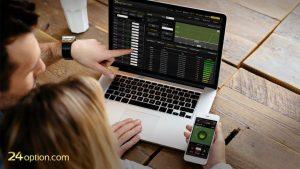 Piattaforma di trading online 24option