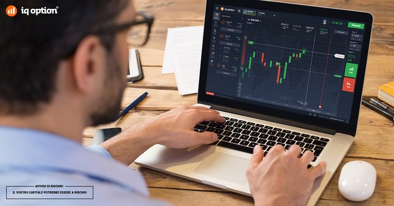 Giocare e investire in borsa: broker iQ option