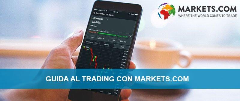 Trading online demo con il broker Markets.com