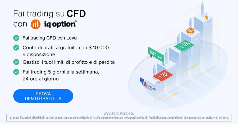 Conto trading CFD Demo