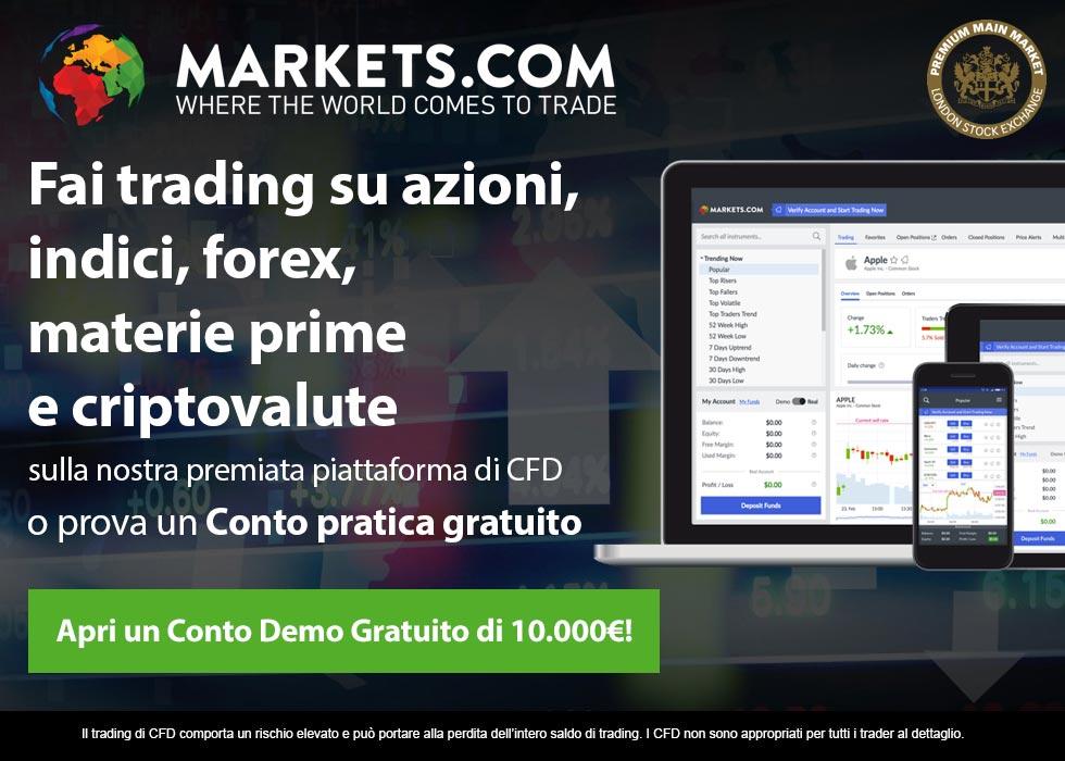 Conto Demo Trading Gratis