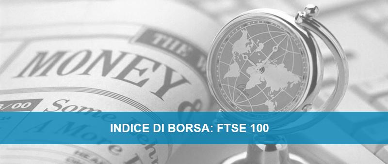 Quotazione indice di borsa FTSE 100