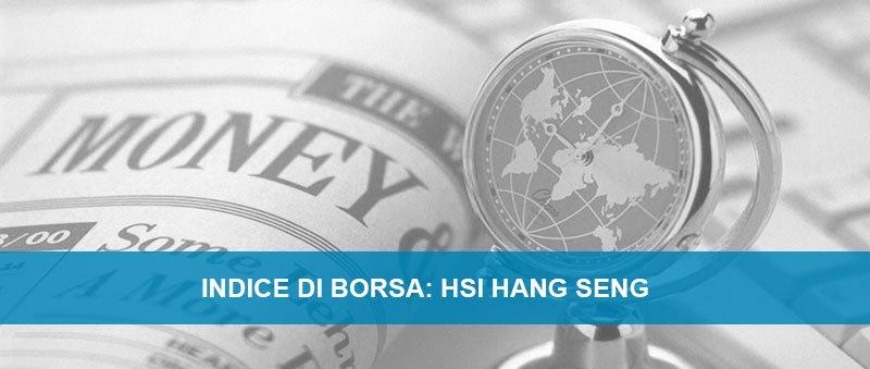HSI hang Seng indice di borsa
