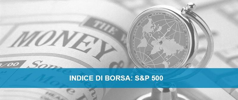 Indice di borsa S&P 500