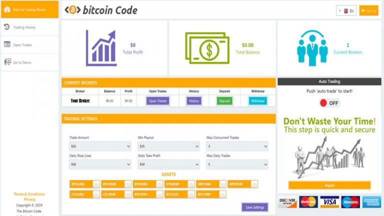 Bitcoin Code: Recensione, opinioni Robot Bitcoin Truffa?