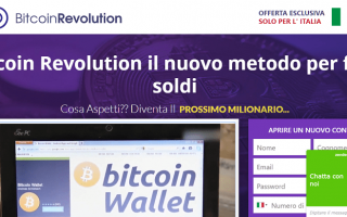 bitcoin revolution homepage