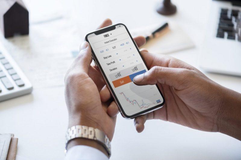 Giocare in borsa con il Trading online mobile