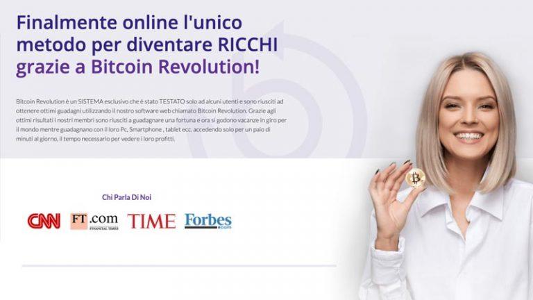 Bitcoin Revolution funziona? Opinioni e recensione del Robot