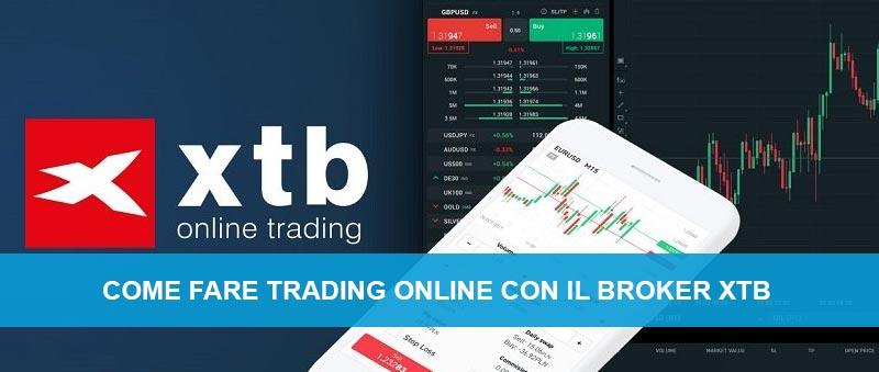 Trading online broker xtb