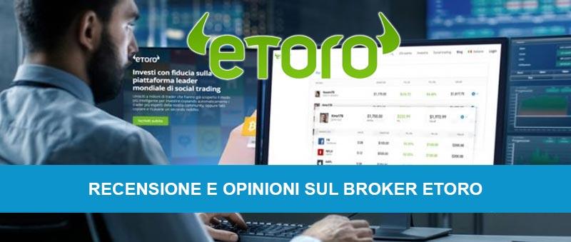 Trading online demo con il broker eToro