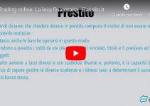 Trading online: La Leva Finanziaria (Video Guida)
