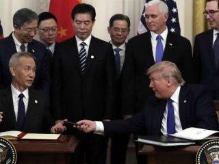 Accordo storico fra USA-Cina