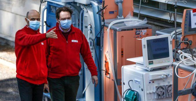 Coronavirus, rallentamento dei contagi in Italia