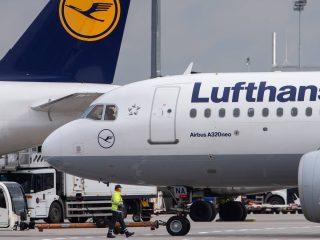 La Lufthansa chiude i voli per l'Italia
