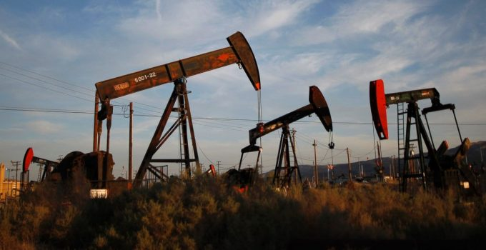 Il Petrolio scende del 20%
