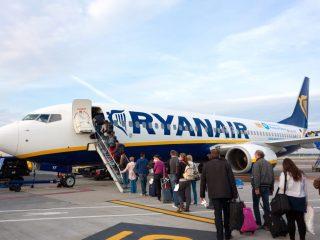 La Ryanair sta ripristinando i voli